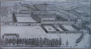 Buen Retiro Palace - Buen Retiro Palace in 1636–1637 (17th century drawing)