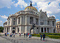 Palacio del Bellas Artes, Mexico City, by day.jpg