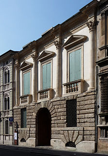 Palazzo Schio palace in Vicenza, Italy