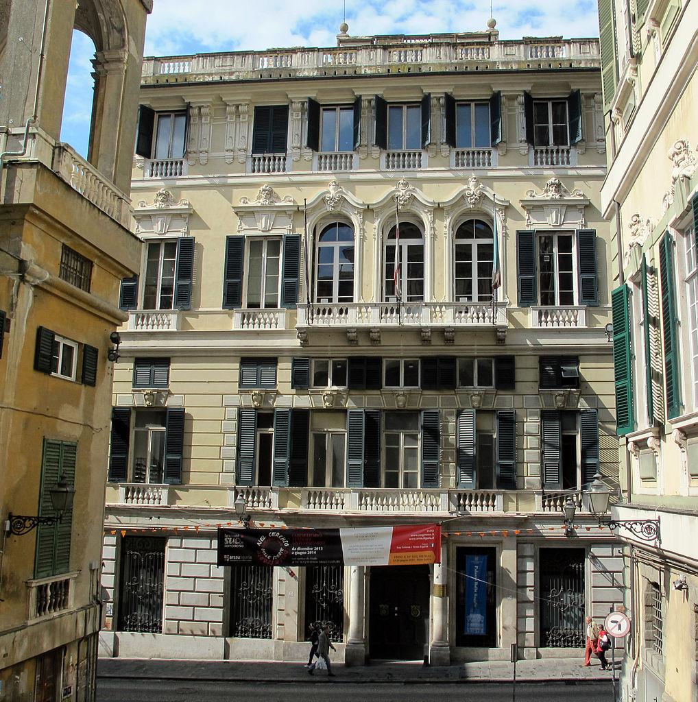 Palazzo Balbi Raggio à Gênes - Photo de Sailko