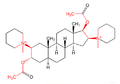 Pancuronium acetylcholine-highlighted.png