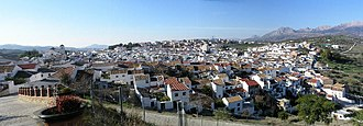 Colmenar, Andalusia - The view from La Santísima.