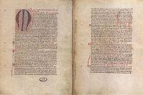 Papal bull regarding Lithuanian ruler Mindaugas 1251