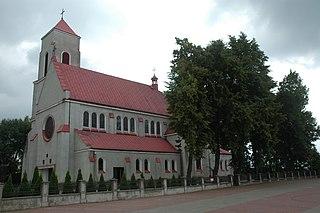 Village in Masovian, Poland