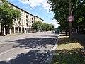 Pardubice, Palackého třída, u zastávky Autobusové nádraží.jpg