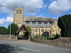 Buckley - Image: Parish Church of St Matthew, Buckley