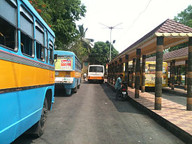 Parnasree Bus Deport