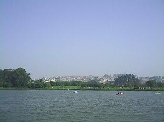 East Zone 1 of São Paulo - Ecological Park of Tietê, in region East of São Paulo City.