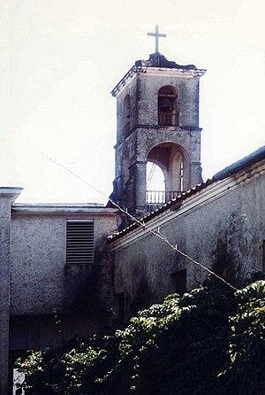 Español: Parroquia de Jatibonico, el campanari...