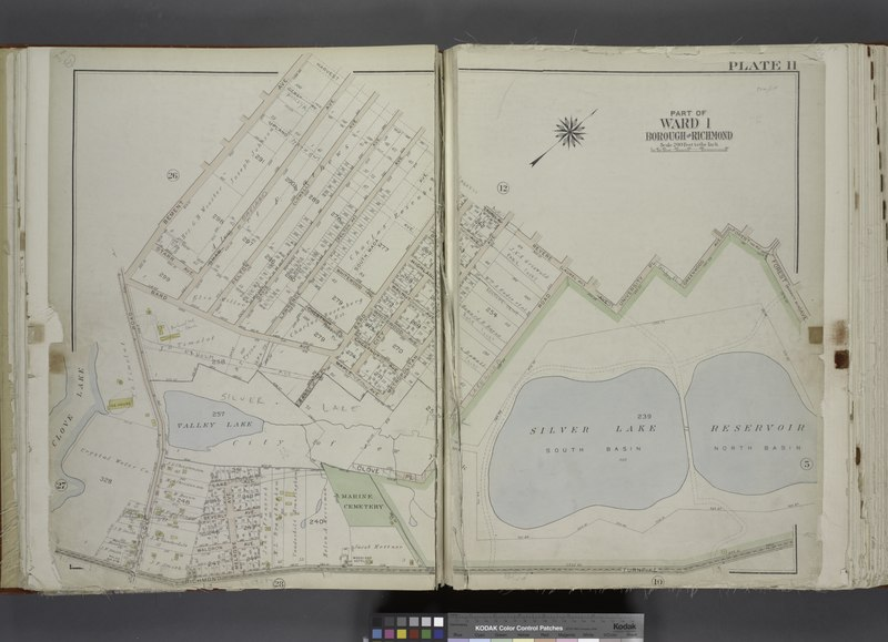 File:Part of Ward 1. (Map bound by Bement Ave, Harvest Ave, Revere Ave (Laurel Ave), University PL, Greenwood Ave, Forest Ave (Barrett Blvd), Reservoir North Basin, Richmond Turnpike, Clove Road) NYPL1646312.tiff