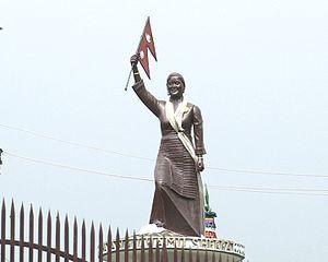 Pasang Lhamu Sherpa - Statue of Pasang Lhamu Sherpa in Kathmandu