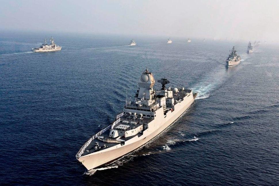 Passage Exercise (PASSEX) during International Fleet Review 2016 (01)
