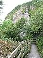 Path walkways through the quarry - geograph.org.uk - 905000.jpg