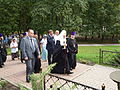 Patriarch Kirill in Memorial park 03.JPG