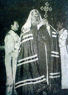 Patriarch Pimen I of Moscow Russian bishop