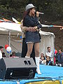 Patricia Javier performing at 14th AF-AFC 20.JPG