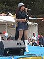 Patricia Javier performing at 14th AF-AFC 20.JPG