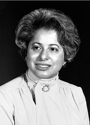 Patricia Roberts Harris - Image: Patricia R. Harris official portrait