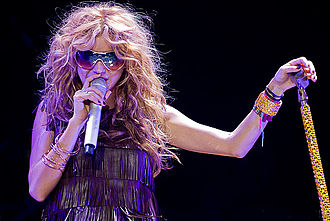 Paulina Rubio - Rubio performing on the ASICS Music Festival in Barcelona, 2007