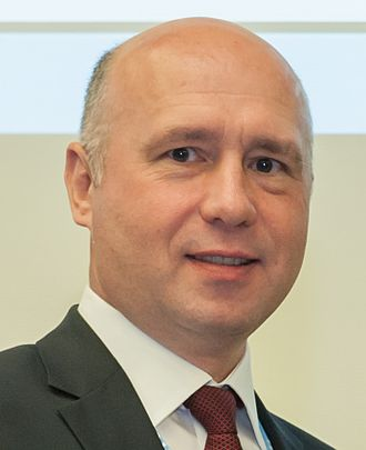 Prime Minister of Moldova - Image: Pavel Filip (11322438465) cropped
