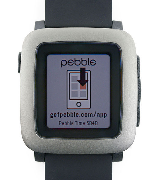 File:Pebble Time front.jpg