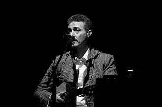 Pedro Aznar - Aznar in a performance in Santiago, Chile