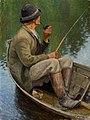 Pekka Halonen - Man Fishing - A IV 3699 - Finnish National Gallery.jpg