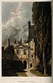 Pembroke College, Oxford. Coloured aquatint after W. Westall Wellcome V0014146.jpg