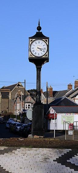 Penarth Town Clock - geograph.org.uk - 4829908