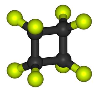 Octafluorocyclobutane chemical compound