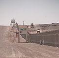 Perimeter fence at Shindand Air Base in 2012.jpg