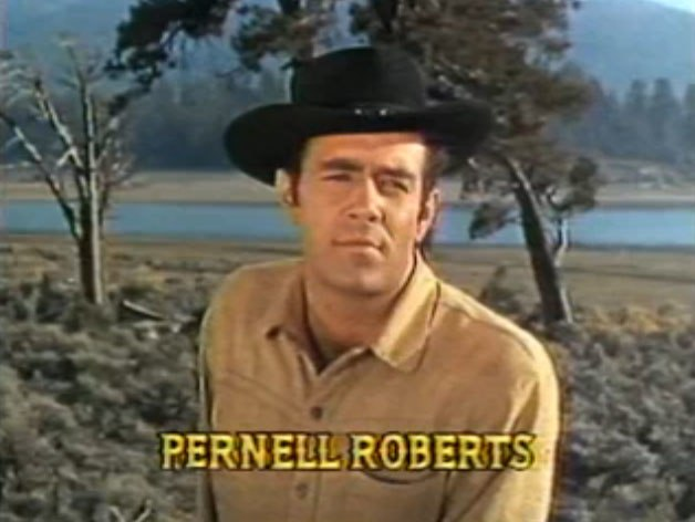 Pernell Roberts in Bonanza opening credits episode Bitter Water