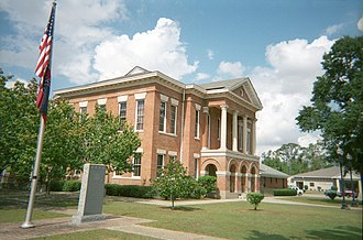 Perry County, Mississippi - Image: Perry County Mississippi Courthouse