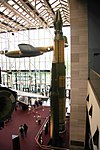 Pershing II foreground - SS-20 background - Bell XP-59A Airacomet - Smithsonian Air and Space Museum - 2012-05-15 (7271321560).jpg