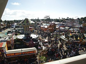 Perth Royal Show - Sideshow alley