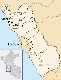 Peru site locations