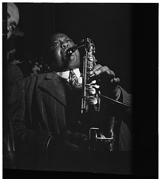 1938 in jazz - Pete Brown, between 1938 and 1948 by William P. Gottlieb