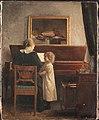 Peter Ilsted - Ved klaveret - 1876-1898 - Statens Museum for Kunst - KMS1573.jpg