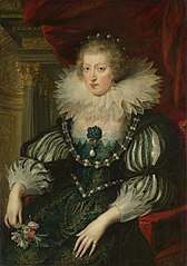 Anne of Austria (1601-66). Wife of Louis XIII, king of France
