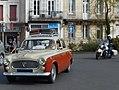 Peugeot 403 and Harley-Davidson Electra Glide.jpg