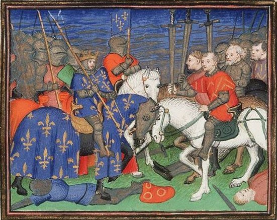 Philippe II's victory at Bouvines