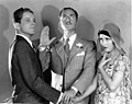 Phillips Holmes, William Powell, and Fay Wray in 'Pointed Heels', 1929.jpg