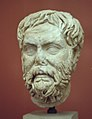 Philosopher, marble head, Roman copy, AM Corfu, Krfm22.jpg