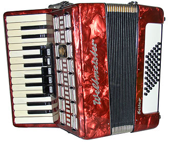 Accordion - A Weltmeister piano accordion