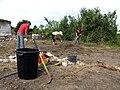 Picquigny (29 juillet 2009) chantier château 12.jpg