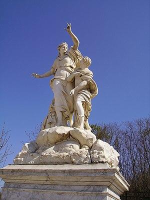 Pierre Granier - Ino and Mélicerte, Versailles's garden