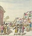 Pierre Goetsbloets, Boat parade in Antwerp on 18 August 1795 to celebrate the restoration of free trade on the River Scheldt.jpg