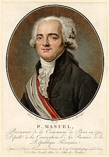 Louis Pierre Manuel French historian and writer