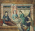 Pietro Cavallini - Nativity of the Virgin - WGA04595.jpg