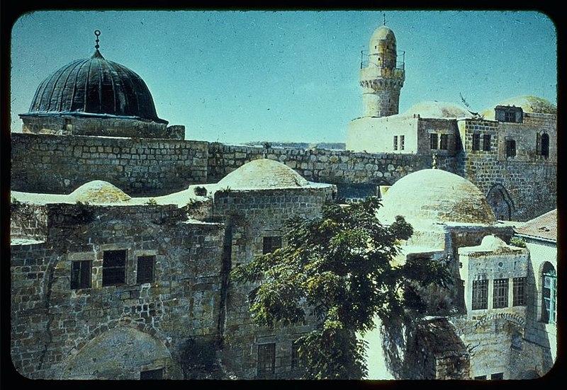 הר ציון, מסגד מעל קבר דוד וחדר הסעודה האחרונה